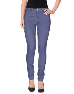 Повседневные брюки JACQUELINE de YONG. Цвет: грифельно-синий