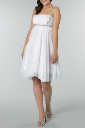 Платье YASMIN. Цвет: белый