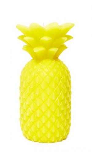 Большая свеча с ароматом ананаса SunnyLife