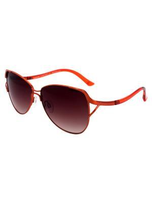 Cолнцезащитные очки Exenza. Цвет: коричневый, рыжий