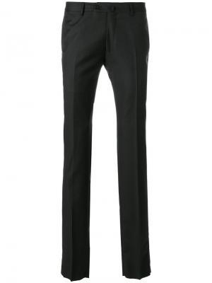 Узкие брюки Caruso. Цвет: серый