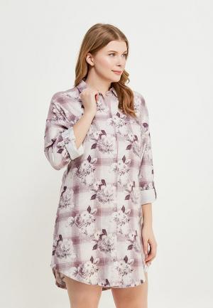 Сорочка ночная Marks & Spencer. Цвет: фиолетовый
