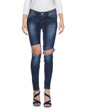 Джинсовые брюки UFFICIO 87. Цвет: синий