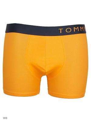 Трусы Tommy Hilfiger. Цвет: оранжевый