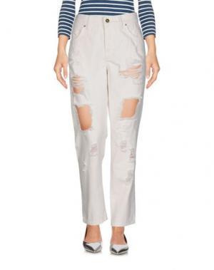 Джинсовые брюки SHOP ★ ART. Цвет: белый