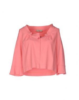 Пиджак JUST FOR YOU. Цвет: лососево-розовый
