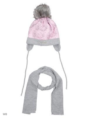 Комплект Grans. Цвет: серый, бледно-розовый