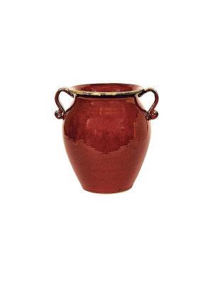 Мусорная корзина Красная глина Blonder Home. Цвет: красный