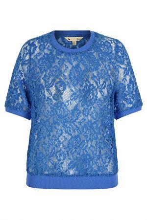 Блуза YUMI. Цвет: blue