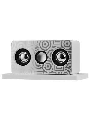 Громкоговоритель для усиления звука на смартфоне NAVELL. Цвет: серебристый, белый