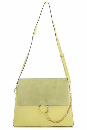 BAG SOFIA CARDONI. Цвет: yellow