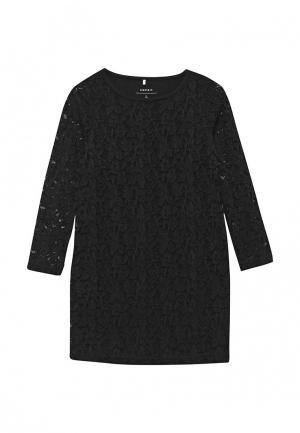 Платье Name It. Цвет: черный