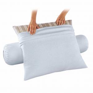Чехол защитный для подушки из стретч-мольтона, водонепроницаемый BEST. Цвет: белый