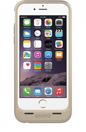Чехол-аккумулятор Mars для iPhone 6/6s на 3000 mAh Odoyo. Цвет: золотой