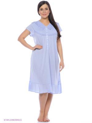 Ночная сорочка HAYS. Цвет: голубой