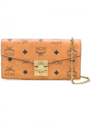 Складной кошелек Patricia MCM. Цвет: коричневый