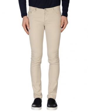 Повседневные брюки ERA. Цвет: бежевый