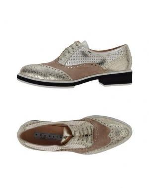 Обувь на шнурках F.LLI BRUGLIA. Цвет: платиновый