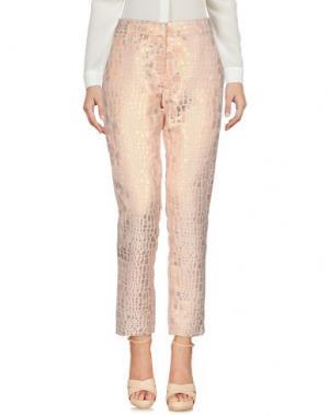 Повседневные брюки CHARLISE. Цвет: светло-розовый