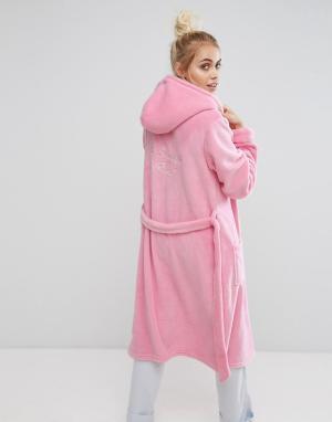Chelsea Peers Розовый халат. Цвет: мульти