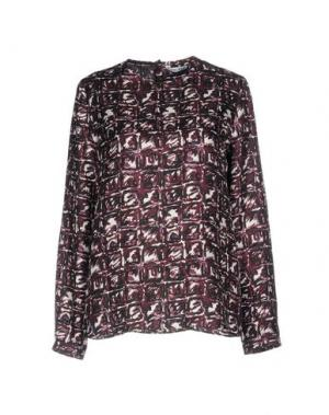 Блузка CALIBAN. Цвет: баклажанный