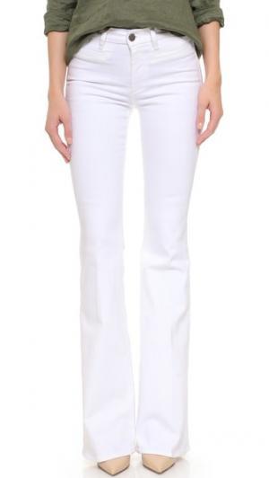 Расклешенные джинсы Marrakesh Kick M.i.h Jeans. Цвет: серый