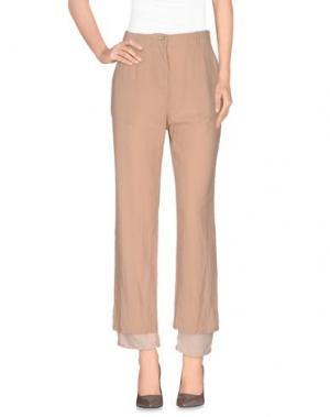 Повседневные брюки NOVEMB3R. Цвет: светло-коричневый