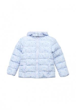Куртка утепленная Emoi. Цвет: голубой