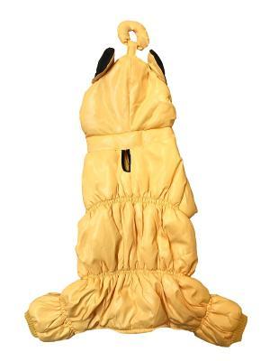 Дождевик Pet's Fashion. Цвет: желтый