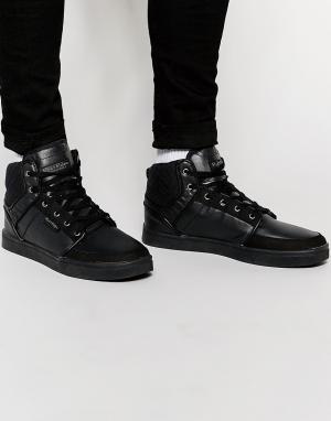 Rock & Religion Высокие кроссовки. Цвет: черный