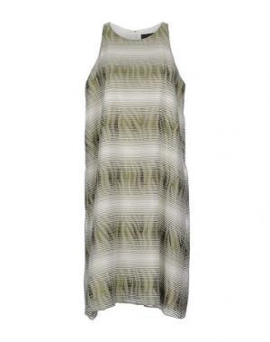Платье до колена JO NO FUI. Цвет: зеленый
