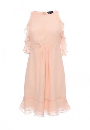 Платье Topshop Maternity. Цвет: бежевый