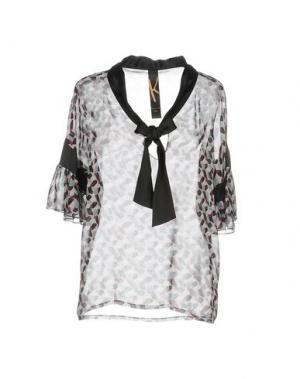 Блузка KRISTINA TI. Цвет: светло-розовый