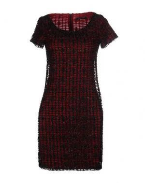 Короткое платье MY SIS. Цвет: красный