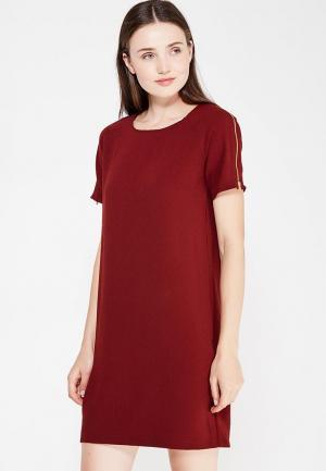 Платье Modis. Цвет: коричневый