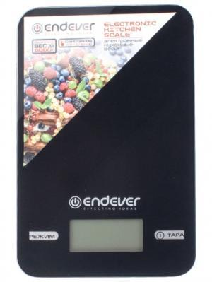Весы Endever. Цвет: черный