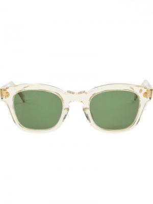 Солнцезащитные очки Glam Hakusan. Цвет: зелёный