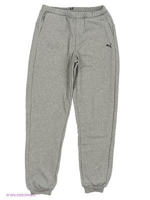Брюки ESS Sweat Pants, FL, cl. Puma. Цвет: серый