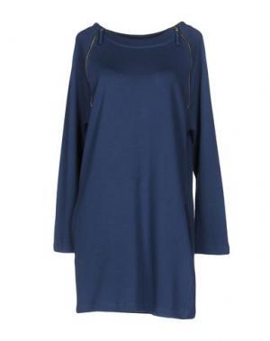 Короткое платье EMPATHIE. Цвет: пастельно-синий
