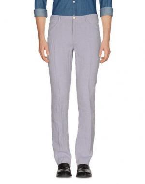Повседневные брюки PAOLONI. Цвет: сиреневый