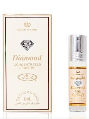 Арабские масляные духи Бриллиант (Diamond) 6 мл Al Rehab. Цвет: бежевый