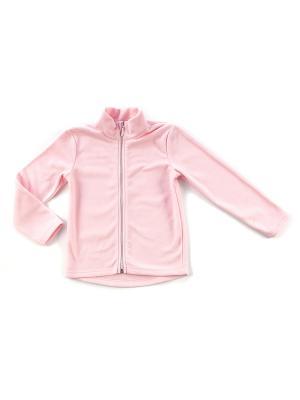Толстовка Lynxy. Цвет: розовый, белый