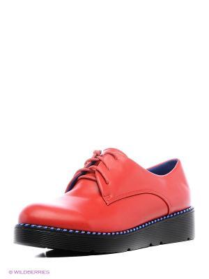 Туфли Camidy. Цвет: красный