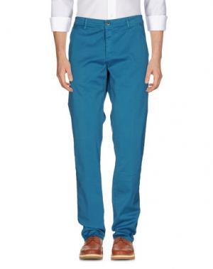 Повседневные брюки CAMOUFLAGE AR AND J.. Цвет: бирюзовый