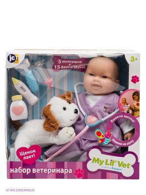 Набор ветеринара JC Toys. Цвет: фиолетовый
