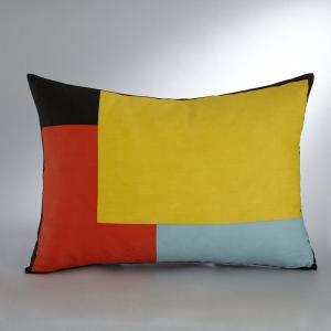 Чехол для подушки FRANÇOIS MANGEOL BENSIMON. Цвет: желтый/ синий/красный
