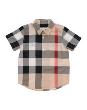 Pубашка BURBERRY. Цвет: бежевый