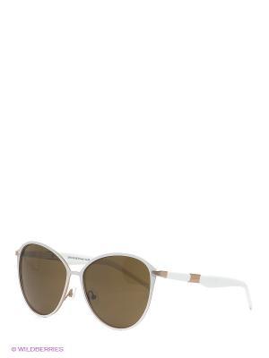 Солнцезащитные очки IS 11-282 31 Enni Marco. Цвет: коричневый, белый