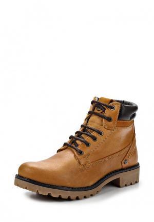 Ботинки Wrangler. Цвет: бежевый