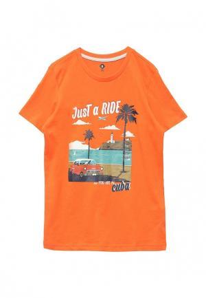 Футболка Z Generation. Цвет: оранжевый